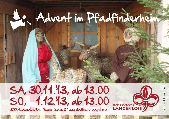 Advent im Pfadfinderheim, Krippe